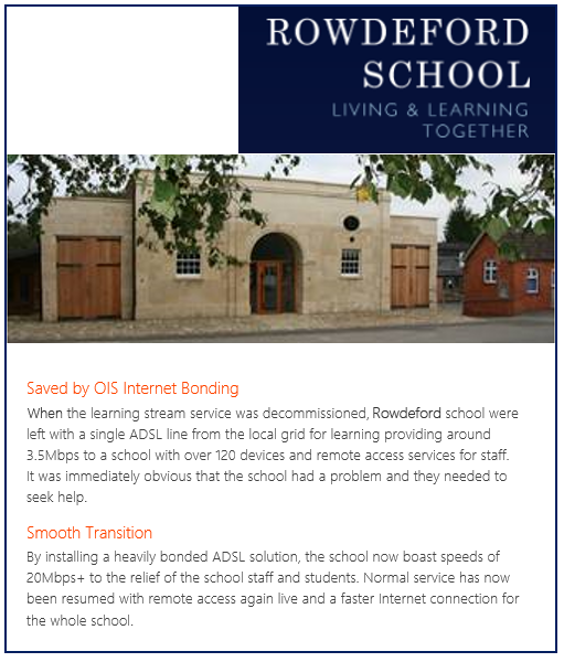 Specialist Learning School